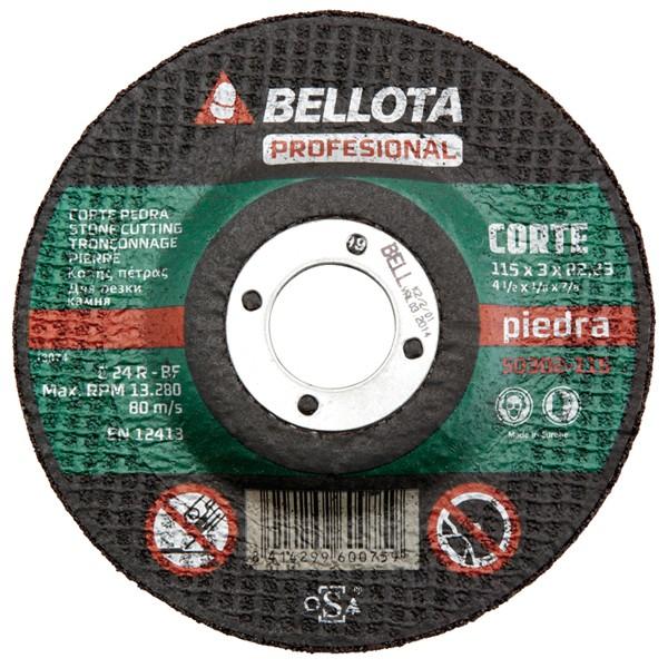 DISCO C PIEDRA PRO BELLOTA 125X3 MM