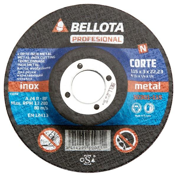 DISCO C HIERRO PRO BELLOTA 230X3 MM