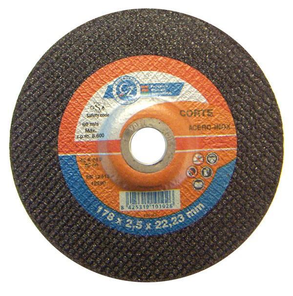 DISCO C H MET/INOX A46 CZ 125X2,4MM