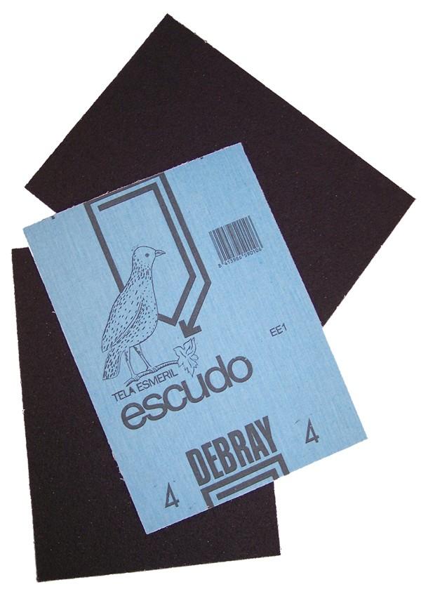 LIJA TELA ESMERIL ESCUDO G50 DEBRAY 280X230 MM