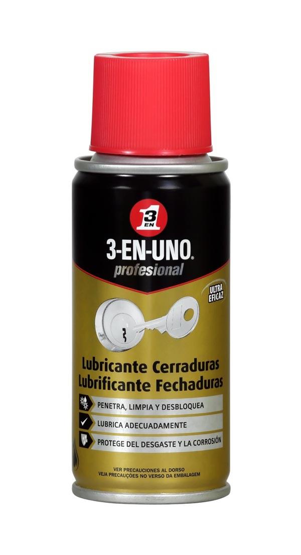 ACEITE LUBRICA CERRADURAS 3 EN 1 100 ML