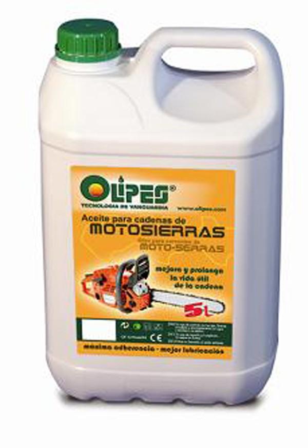ACEITE CADENA MOTOSIERRA OLIPES 5 L
