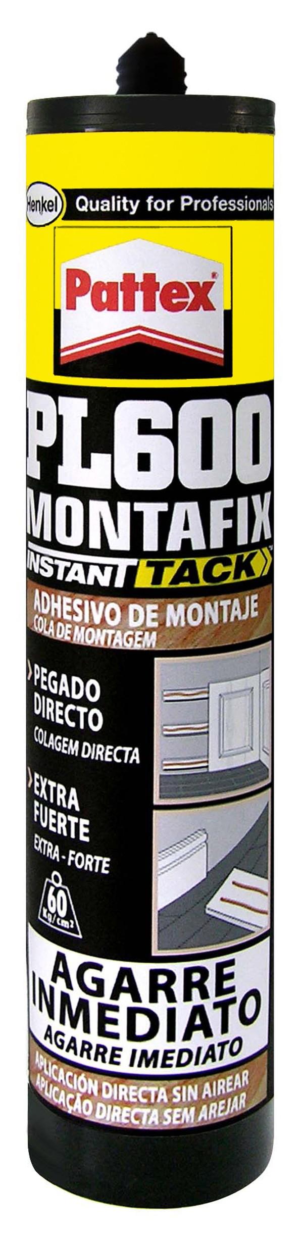 ADHESIVO MONTAJE MONTAFIX 600 PATTEX 300 ML