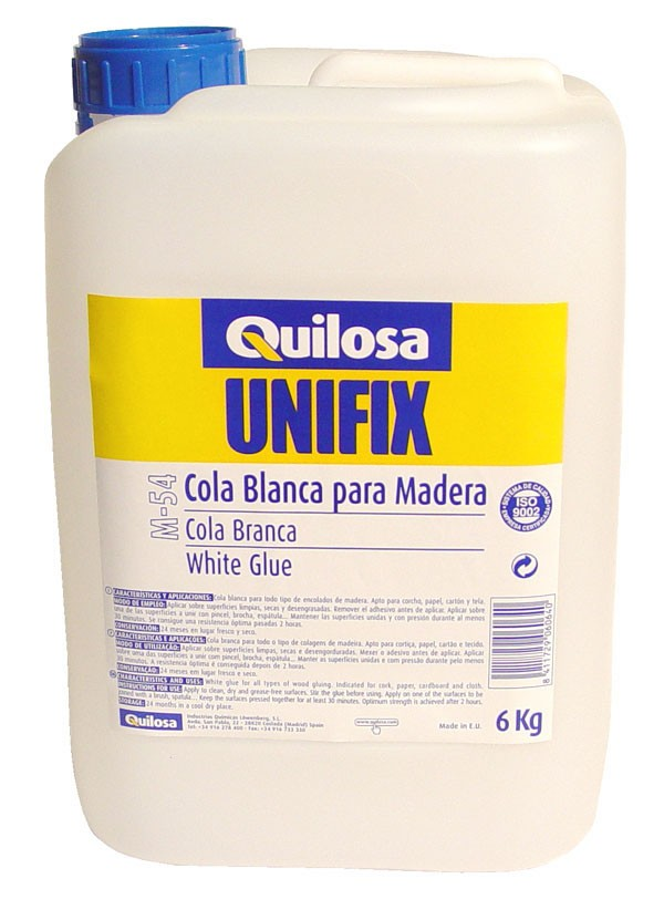 COLA BLANCA CARPINTERO M 54 UNIFIX 250 G