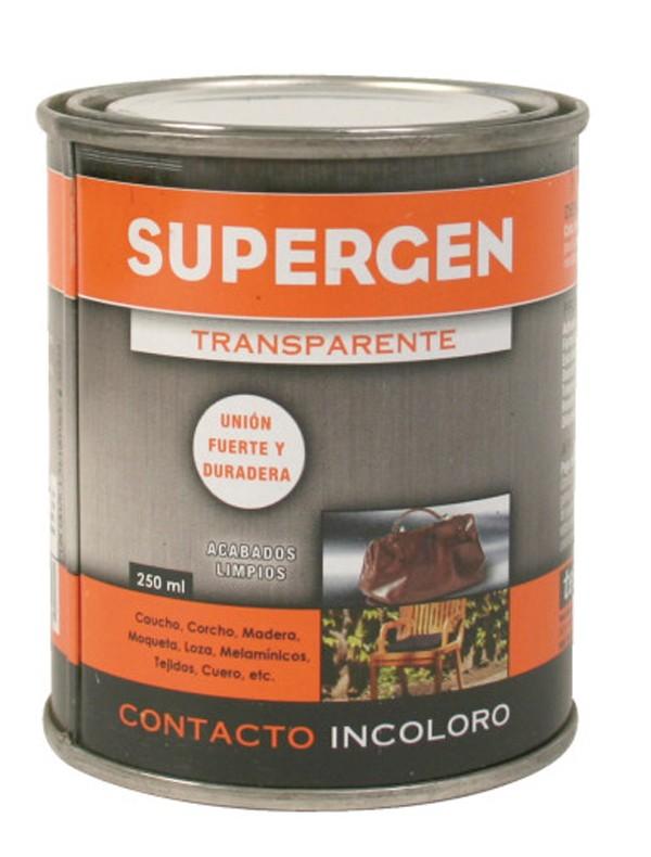 PEGAMENTO INCOLORO BOTE SUPERGEN 250 ML