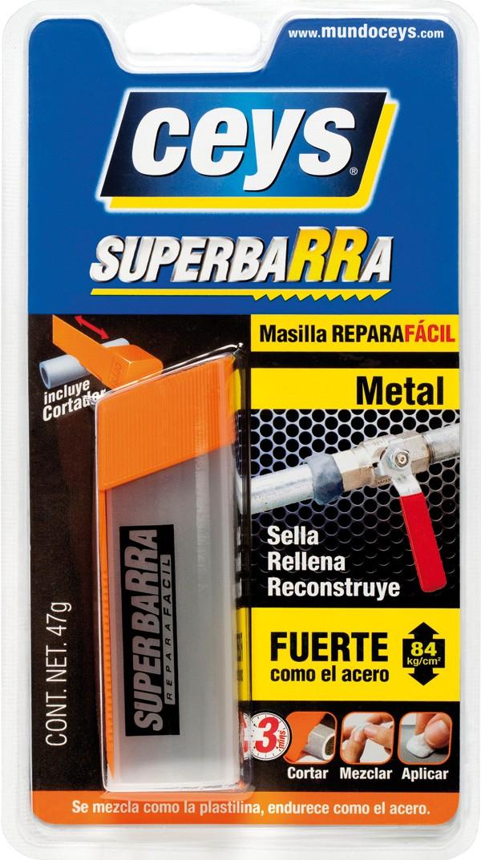 REPARADOR EPOXI BARRA METAL CEYS 47 G