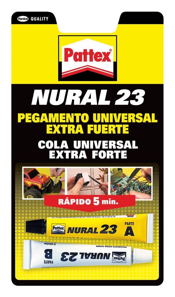 PEGAMENTO TRANSP. NURAL 23 PATTEX 22 ML