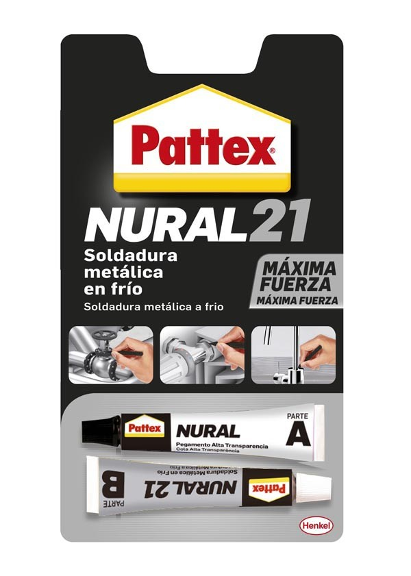 PEGAMENTO ALUMINIO NURAL 21 PATTEX 120 ML