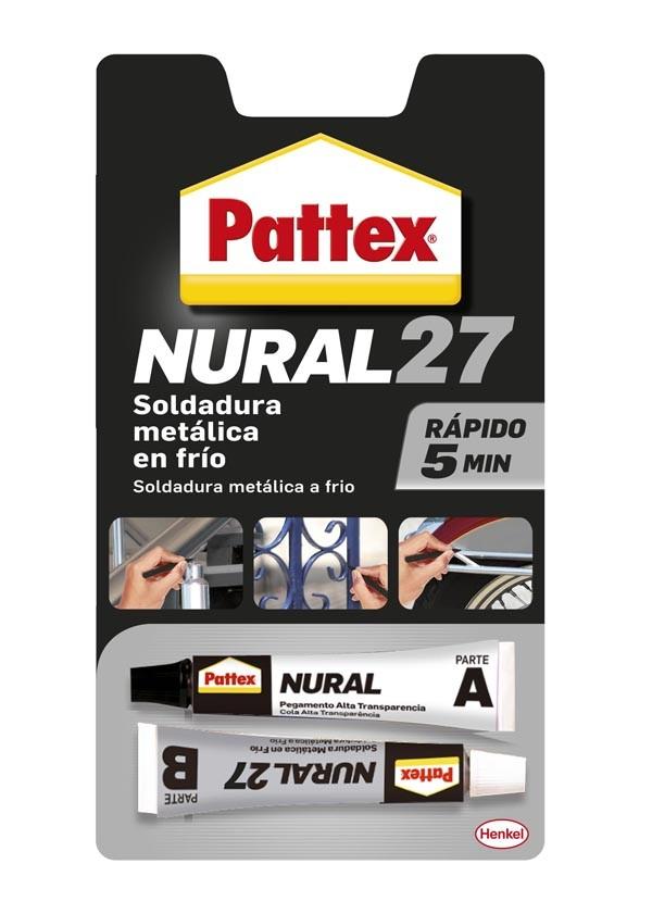 PEGAMENTO ALUMINIO NURAL 27 PATTEX 22 ML