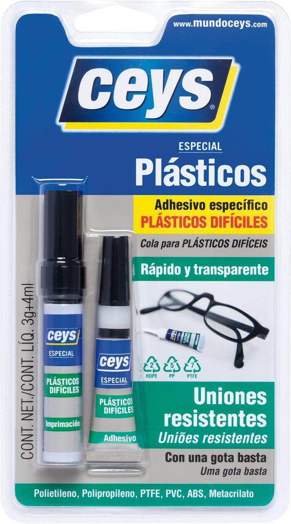 PEGAMENTO PLASTICOS DIFICILES CEYS 3 G