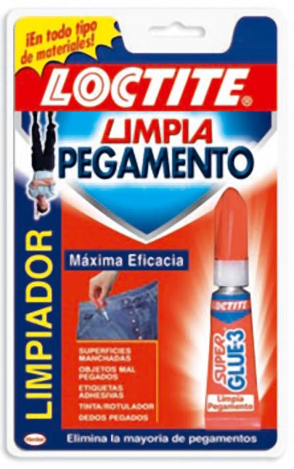 LIMPIADOR PEGAMENTO GEL LOCTITE 5 G