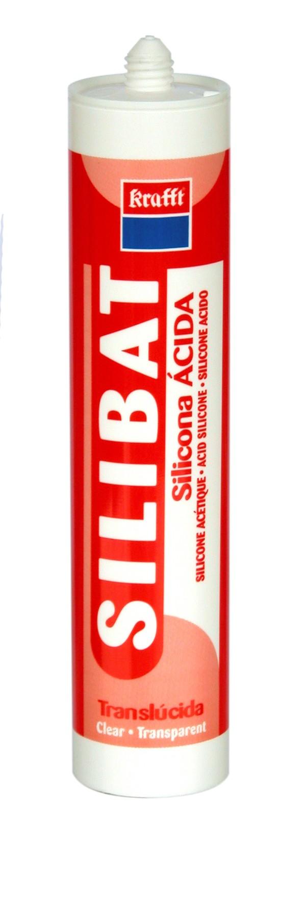 SILICONA TRASLUCIDA SILIBAT 280 CM3