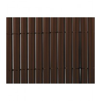 CAÑIZO PVC DOBLE CHOCOLATE NORTENE 1X3 M