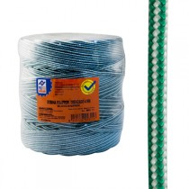 CUERDA PP.TRENZAD.4 MM BLA/VER PROFER HOME 200 M