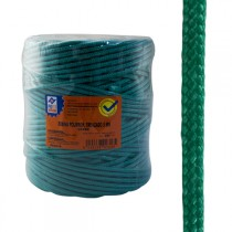 CUERDA PP.TRENZAD.5 MM VERDE PROFER HOME 200 M