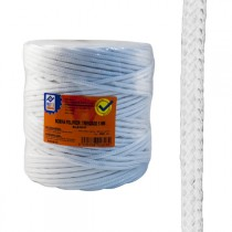 CUERDA PP.TRENZAD.5 MM BLANCO PROFER HOME 200 M