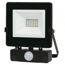 FOCO LED NEGRO IP65 CON SENSOR  10 W