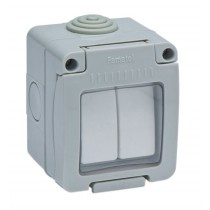 INTERRUPTOR DOBLE ESTANCO IP55 FAMATEL 10 AMP