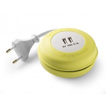PROLONGADOR 2T USB 2M ECOLED 2X0.75