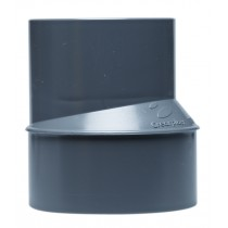 REDUCCION EXCENTRICA PVC M/H CREARPLAST 40-32
