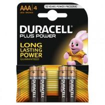 PILA ALCALINA POWERP BL4 LR03 DURACELL