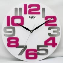 RELOJ PARED SURTIDO ELCO 25 CM