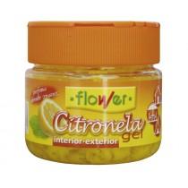 CITRONELA GEL FLOWER 125 G