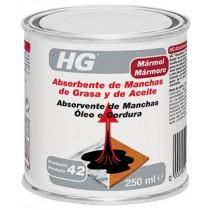 ABSORBENTE MANCHAS GRASA/ACEIT HG 0,25 L