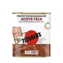 ACEITE PARA TECA INCOLORO TITANXYL 750 ML