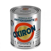 BARNIZ ANTIOX AL AGUA SATIN OXIRON 750 ML