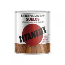 BARNIZ POLIURETANO SUELOS SAT TITAN 750 ML