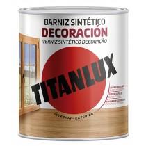BARNIZ TINTE SINT SAT ROBLE TITANLUX 750 ML