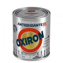 ESMALTE LISO SAT AL AGUA NEGRO OXIRON 2.5 L