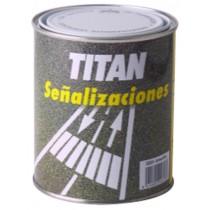 PINTURA SUELOS TRAFICO BLANCO TITAN 750 ML